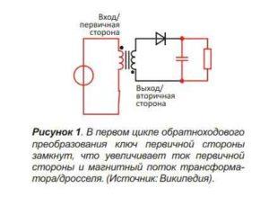 Обратноходовой преобразователь-1