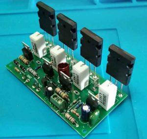 Транзисторы на плате