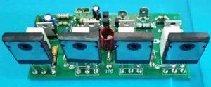 Транзисторы с тыльной стороны