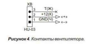 Контакты вентиляторов-4