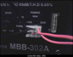 Подключение активного сабвуфера к магнитоле-4