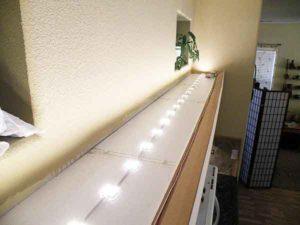 Тестирование кухонной подсветки