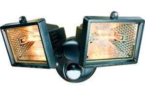 Прожектор светодиодный с датчиком движения для улицы-4