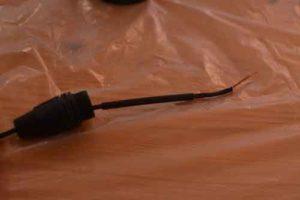 Распайка XLR-Добавить термоусадочную трубку
