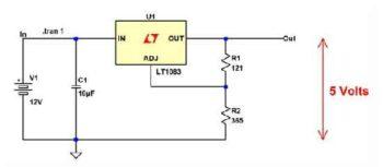 Регулирующий стабилизатор напряжения-2