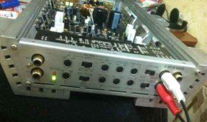 Ремонт автомобильного усилителя звука-1