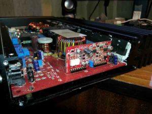 Ремонт автоусилителя звука-9