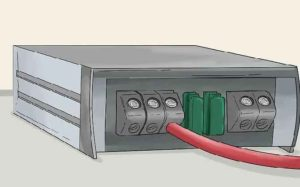Подключение проводов к усилителю