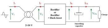 Схема блока питания-1
