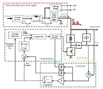 Схема блока питания-2