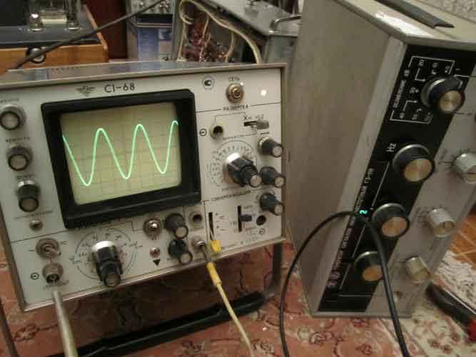 Схема генератора сигнала