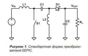 Схема импульсного преобразователя-1