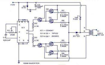 Схема инвертора-1