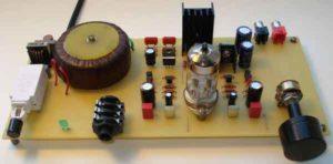 схема лампового усилителя для наушников-1