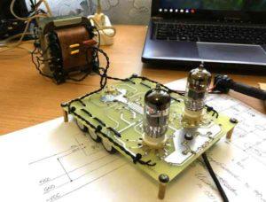 схема лампового усилителя для наушников-3