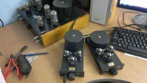 схема лампового усилителя для наушников-7