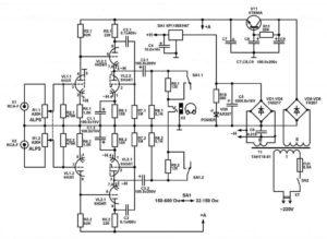 схема лампового усилителя для наушников-9