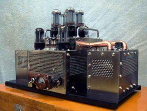 Схема лампового усилителя звука-1