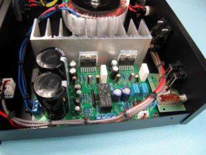 Схема усилителя звука на микросхеме-1