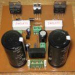 Схема простого усилителя звука на транзисторах