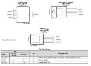 Схема регулятора напряжения-1