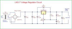 Схема регулятора напряжения-2