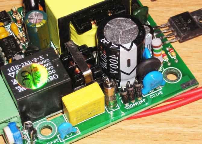 Схема ШИМ контроллера