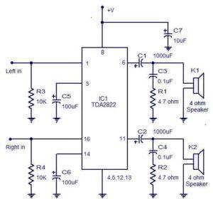 Схема стереоусилителя-3