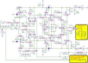 Схема усилителя Ланзар-20