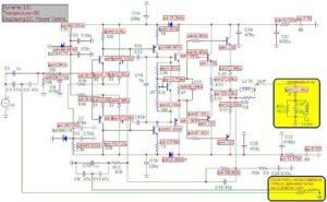 Схема усилителя Ланзар-6
