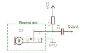 Схема усилителя микрофона-2