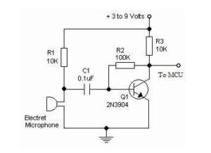Схема усилителя микрофона-3