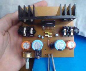 Схема усилителя TDA1554Q-1