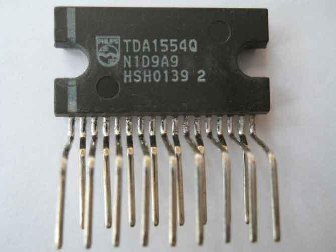 Схема усилителя TDA1554Q