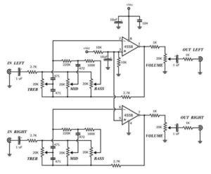 Схема усилителя TDA2003-3