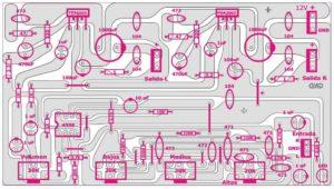 Схема усилителя TDA2003-4