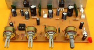 Схема усилителя TDA2003-9