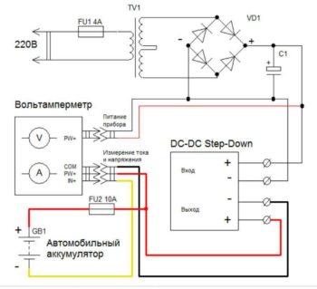 Схема зарядного устройства-1