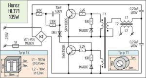 Cхемы электронных трансформаторов-10