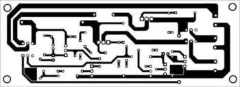 Схема печатной платы солнечного светильника