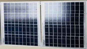 Две фотоэлектрические панели