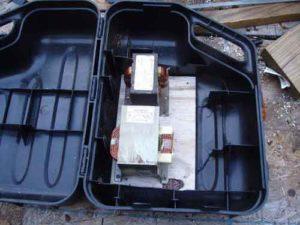 Сварочный аппарат из микроволновки своими руками-6