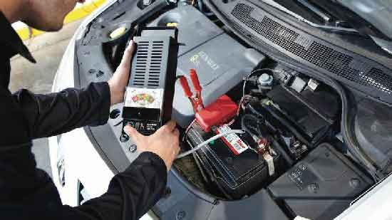 Тестер автомобильных аккумуляторов
