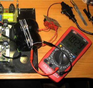 Уменьшить помехи от трансформатора-3