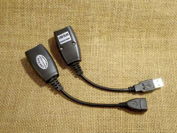 Удлинитель USB на витой паре-1