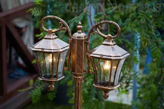 Уличные светильники своими руками