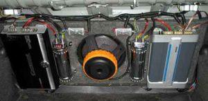 Усилитель двухканальный для сабвуфера-1