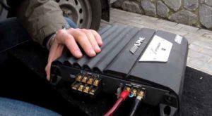 Усилитель двухканальный для сабвуфера-7