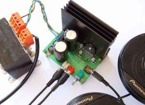 Усилитель мощности звука 20W-6