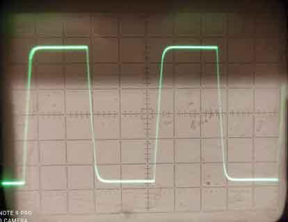 Меандр, частота 20кГц